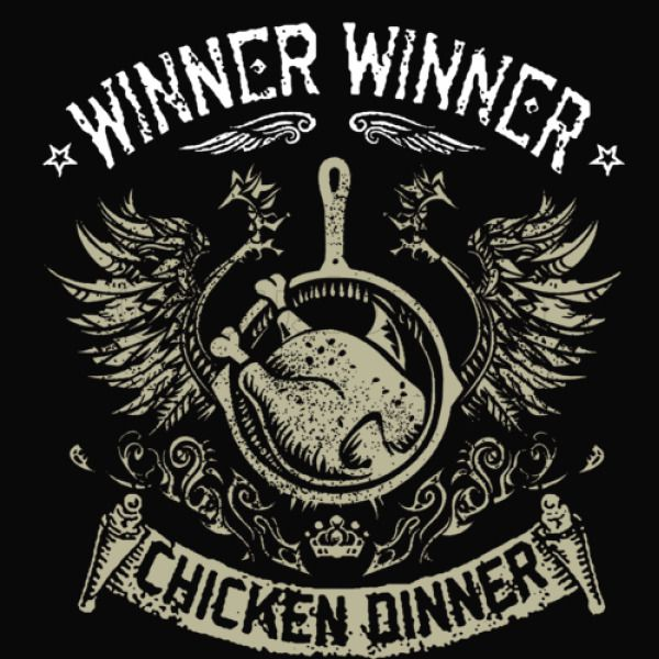 winner winner chicken dinner baseball t shirt customon com