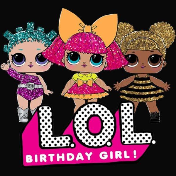 LOL Surprise Dolls Birthday Girl Pantie | Customon.com