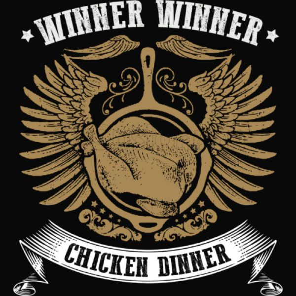 winner winner chicken dinner baby bib customon com