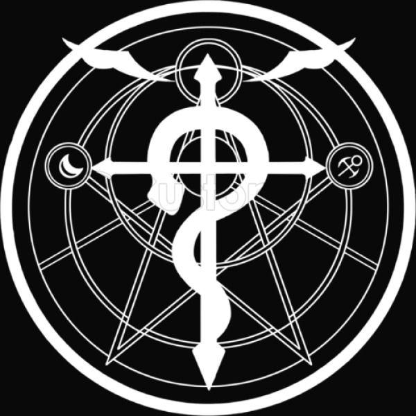 Fullmetal Alchemist Symbol Kids Hoodie Customon