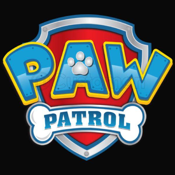 paw patrol logo thong. Black Bedroom Furniture Sets. Home Design Ideas
