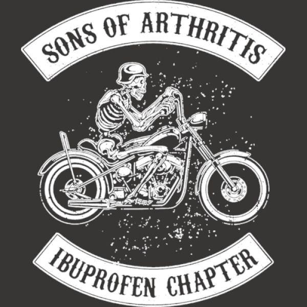 sons of arthritis ibuprofen chapter long sleeve t shirt. Black Bedroom Furniture Sets. Home Design Ideas