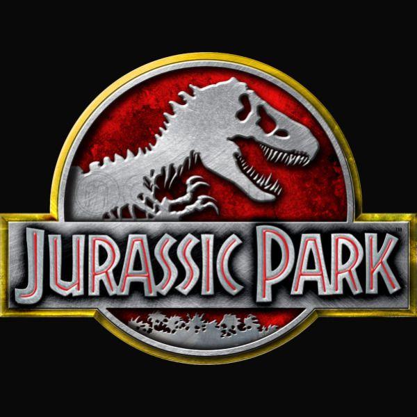 Jurassic Park Logo Baby Bib Customon