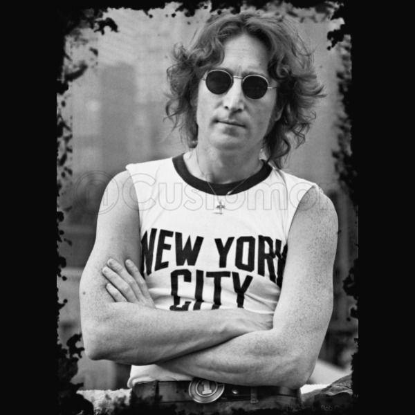 John Lennon New York City Men s T-shirt  9b3ee719a64