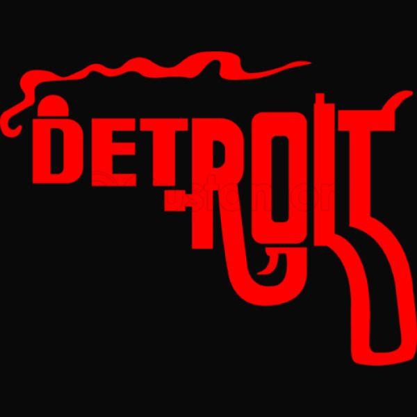 Detroit Smoking Gun Baseball T Shirt Customoncom