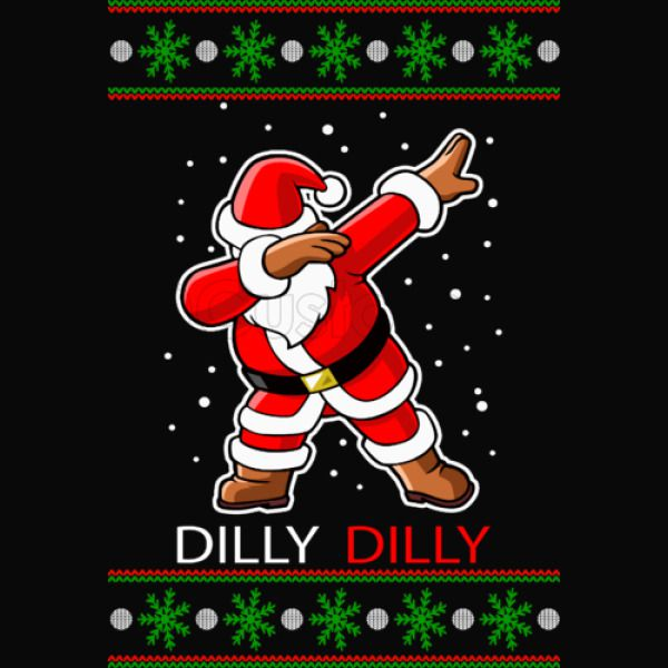 merry christmas dilly dilly dabing dab crewneck sweatshirt