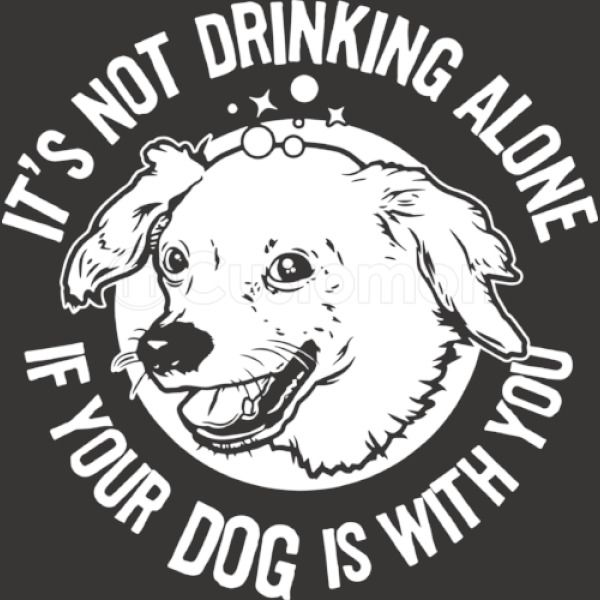 Drinking With Your Dog Unisex Zip Up Hoodie