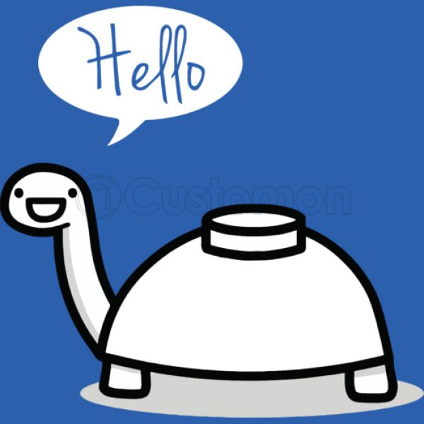 Mine Turtle Stops By To Say Hello Unisex Hoodie Customoncom