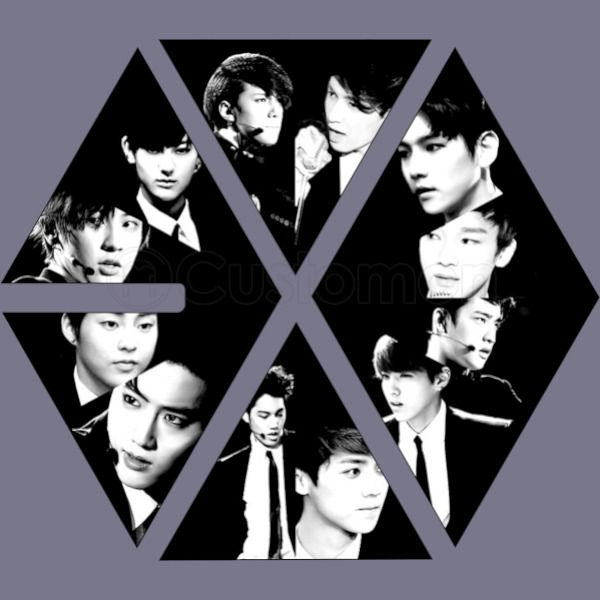 Exo Logo Personal Men S T Shirt Customon Com