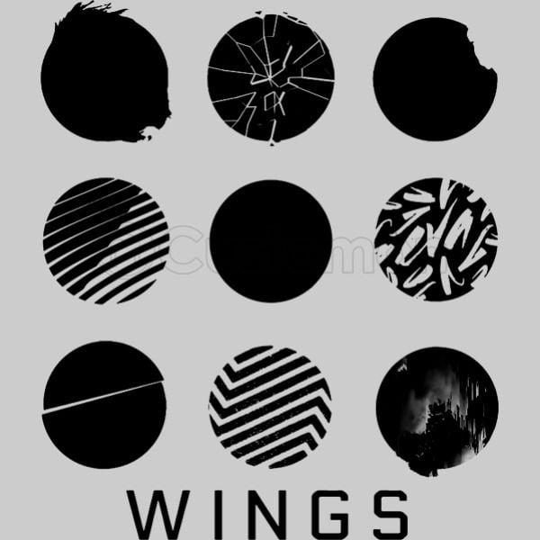 bts wings unisex hoodie customon com