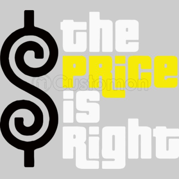 The Price Is Right Womens V Neck T Shirt Customon