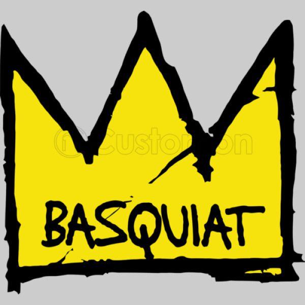Crown Basquiat Dinosaur Jean Michel Women's T-shirt ...  Crown Basquiat ...