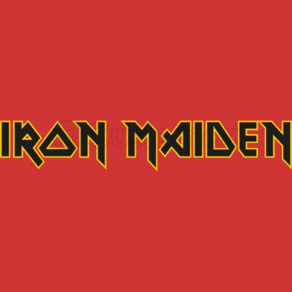 Iron Maiden Logo Womens T Shirt