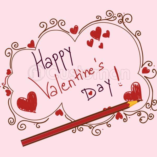 Happy Valentines Day Baby Bib Customon Com