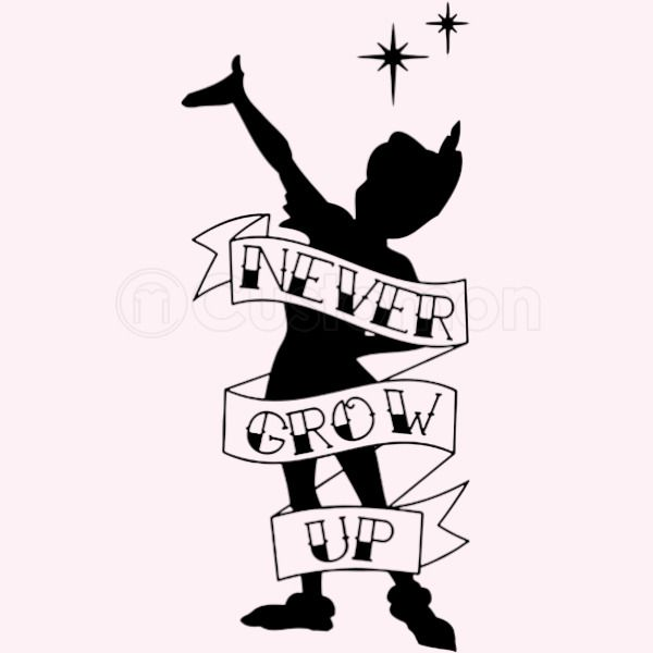 Never Grow Up Peter Pan 3 Baby Onesies Customoncom