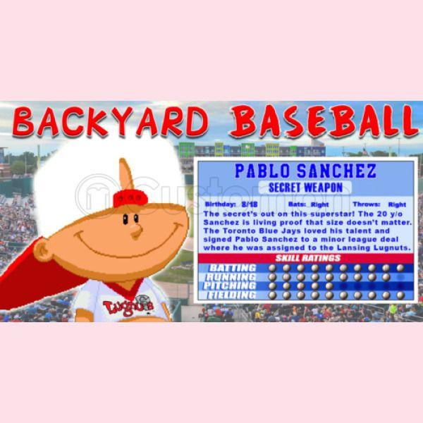Backyard Baseball Pablo Sanchez Baby Onesies