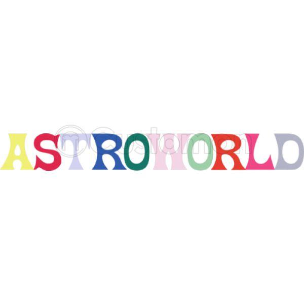 AstroWorld Logo Baseball T-shirt - Customon.com