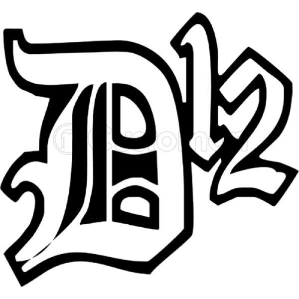 481898e27dd D12 Rap Hip Hop Music Classic Logo Foam Trucker Hat ...
