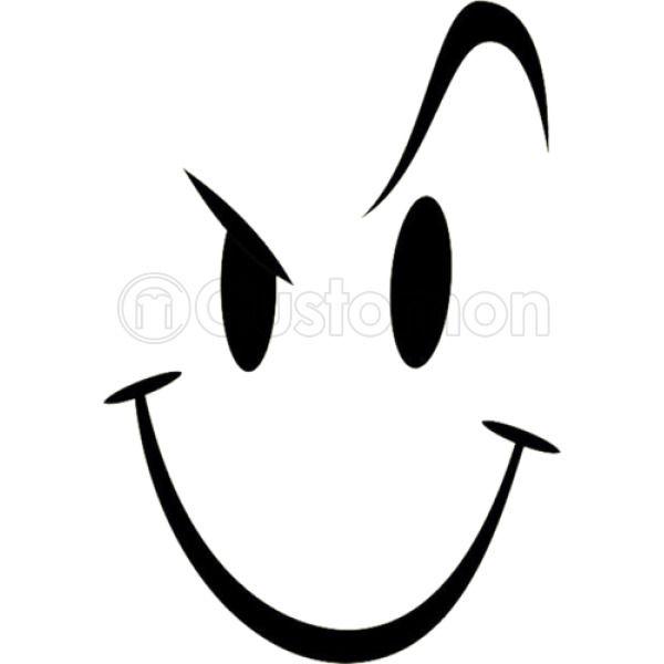 b362b165b91 Naughty Smiley Bad Boy Face Foam Trucker Hat ...