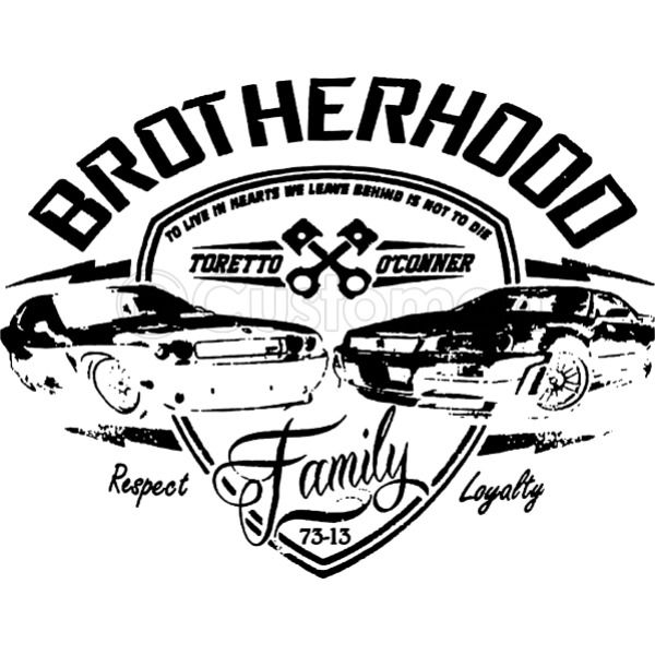 fast and furious brotherhood men s t shirt customon Fast and Furious Brian's Subaru fast and furious
