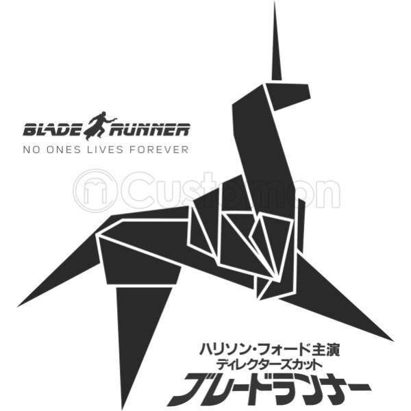 Blade Runner Origami Unicorn Womens T Shirt Customon