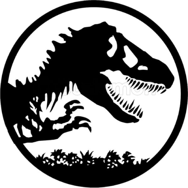 Jurassic Park Logo Mens T Shirt Customon