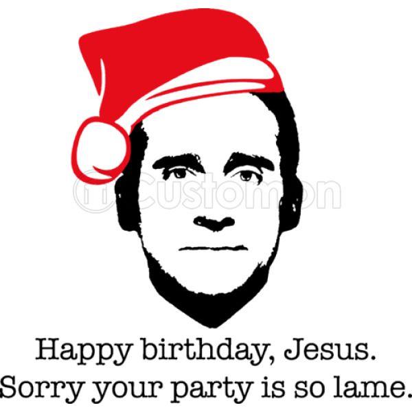 Michael Scott The Office Happy Birthday Jesus
