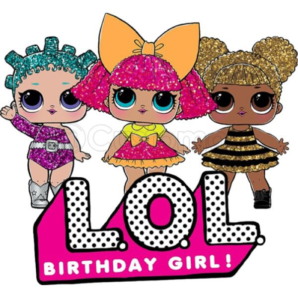 LOL Surprise Dolls Birthday Girl Women's T-shirt