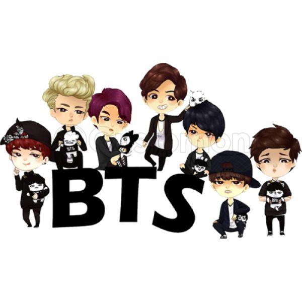 BTS Bangtan Boys BTS CARTOON Men's T-shirt