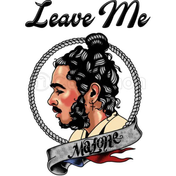 Post Malone Leave: Leave Me Malone Men's Tank Top