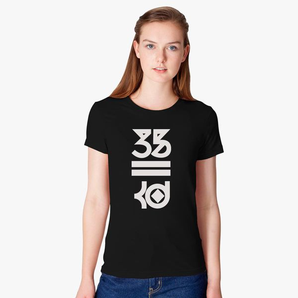 f47644e47c4 Kevin Durant 35 Kd White Logo Women s T-shirt - Customon