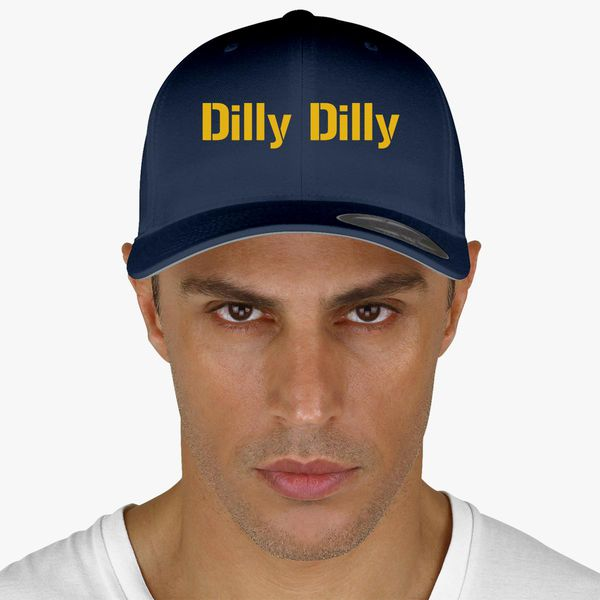 040a1b07 dilly dilly bud light Baseball Cap - Customon