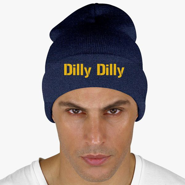 1dd1a3d4e0b3c dilly dilly bud light Knit Cap - Customon