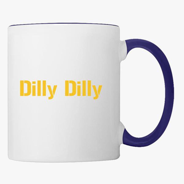 9222b0f84d59e dilly dilly bud light Coffee Mug - Customon