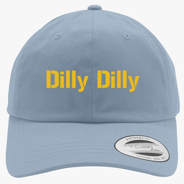 4d795664 dilly dilly bud light Cotton Twill Hat - Customon