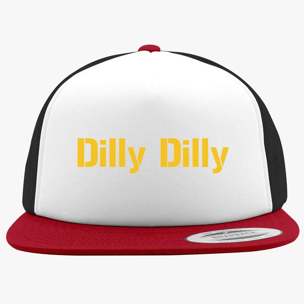 7090c118 dilly dilly bud light Foam Trucker Hat - Customon