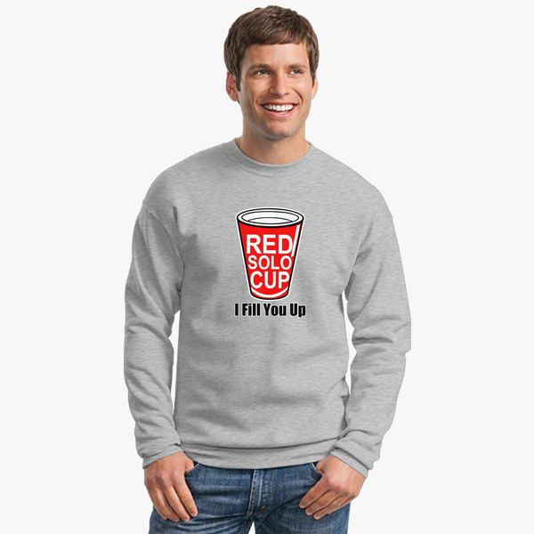 Buy Red Solo Cup Crewneck Sweatshirt, 10419
