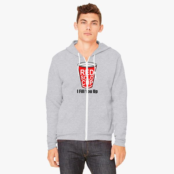Buy Red Solo Cup Unisex Zip-Up Hoodie, 10436