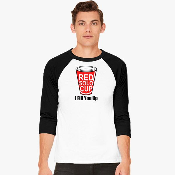 Buy Red Solo Cup Baseball T-shirt, 10465