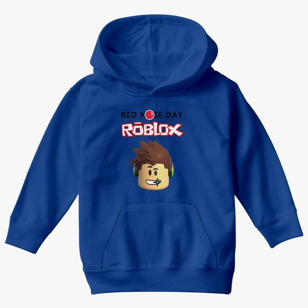Red Gang Clothes Roblox Roblox Red Nose Day Kids Hoodie Customon