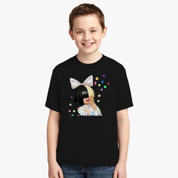 82e2a3f4e Sia Cutie Youth T-shirt - Customon