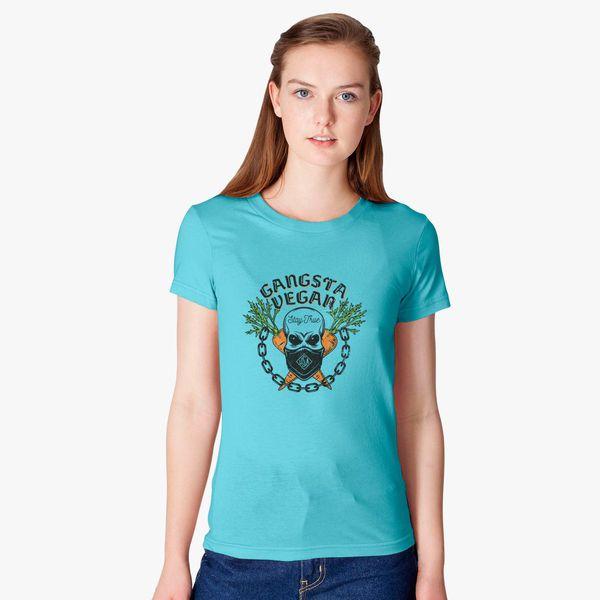Vegan Gangsta Standard Women/'s T-shirt