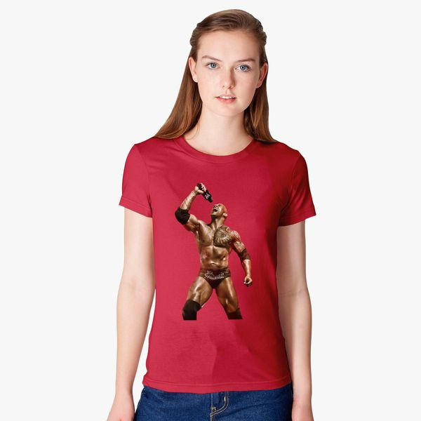 b474a658723 The Rock Dwayne Johnson Women s T-shirt - Customon