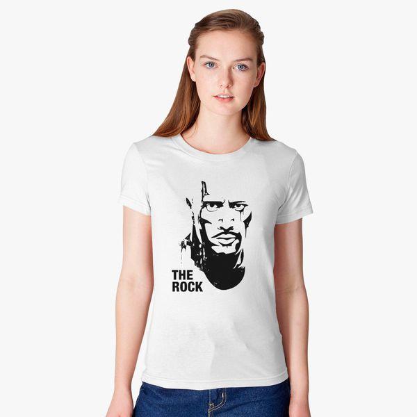 19e0db7eaa9 The Rock Dwayne Johnson Art Women s T-shirt - Customon