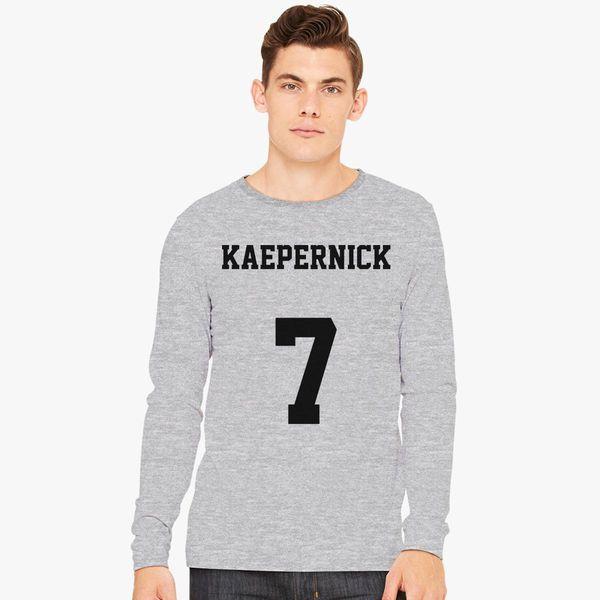 d1615cac Colin Kaepernick 7 Long Sleeve T-shirt - Customon