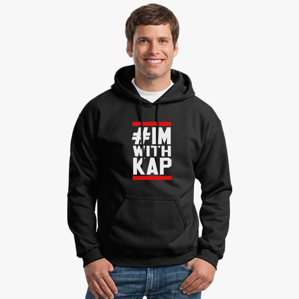 d2bc92f1e6a Colin Kaepernick I m With Kap Unisex Hoodie - Customon