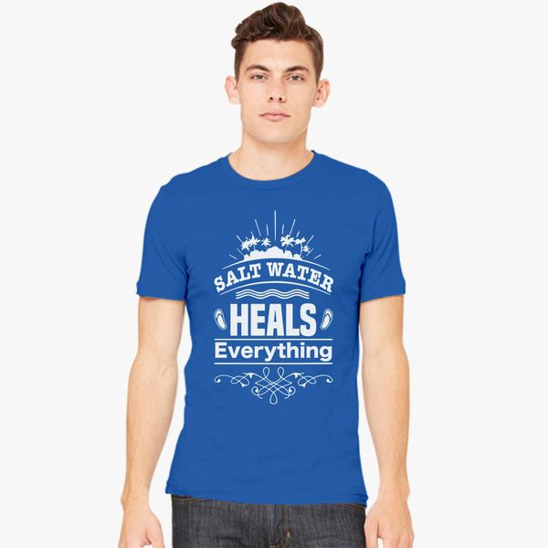 Salt Water Heals Everything Youth Graphic Tees Short Sleeve Shirt