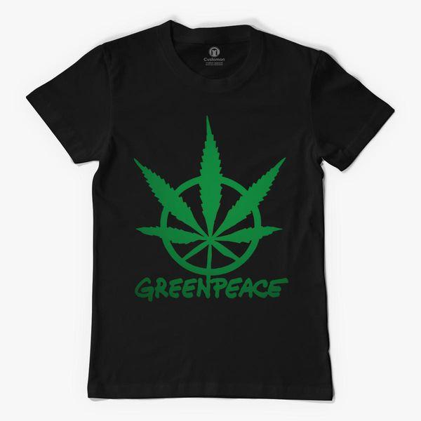 RARE Greenpeace Green Peace Symbol Men/'s Black NEW T-SHIRTS S-5XL