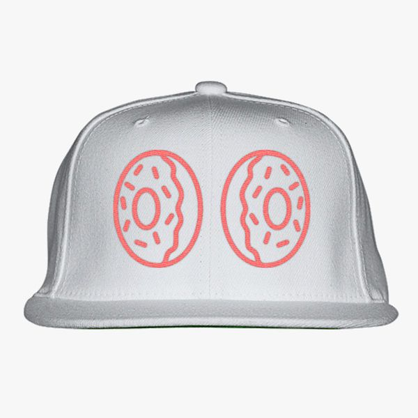 d5a47b73659 Donut boobs Snapback Hat (Embroidered) - Customon