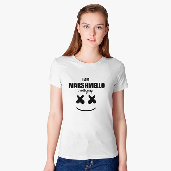 e3cb34df Marshmello The Dj I am Marshmello Mellogang Women's T-shirt ...